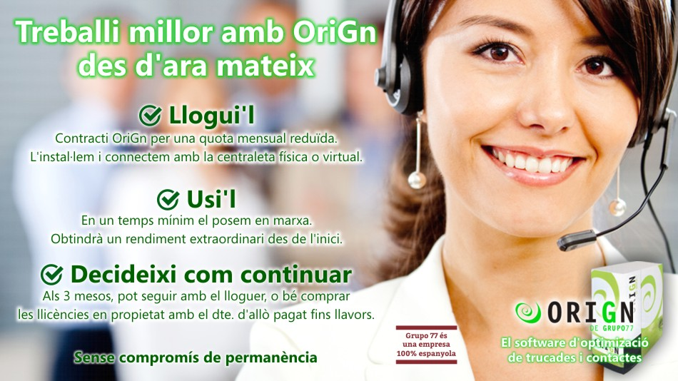 Programari call center de lloguer